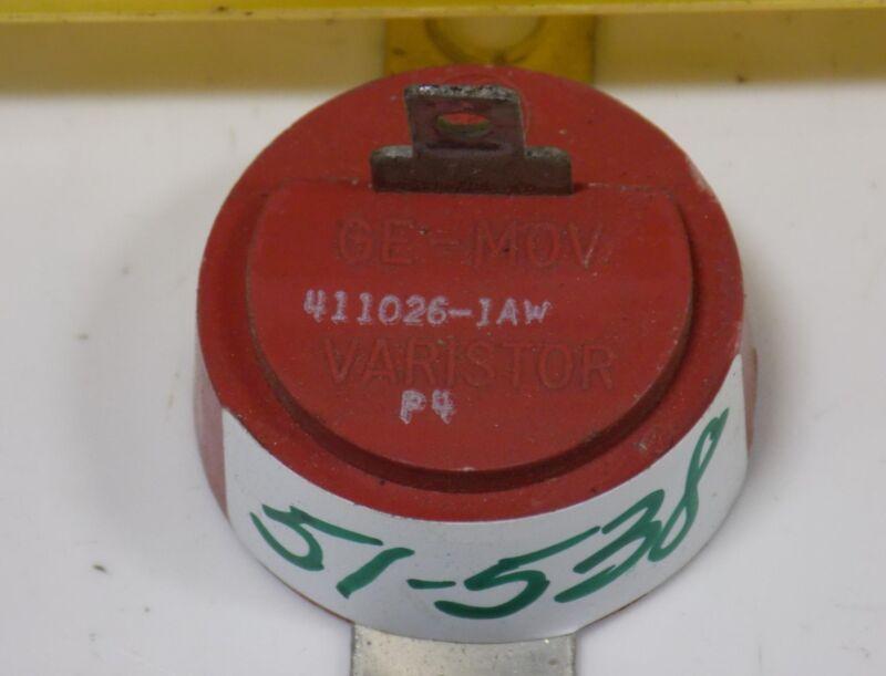 GENERAL ELECTRIC VARISTOR 411026-1AW