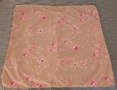 SIMPLY SHABBY CHIC COUTURE BELLA ROSE BEIGE XL EURO SHAM RACHEL ASHWELL