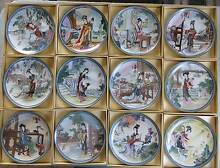LIMITED EDITION PLATES BY ZHAO HUIMIN. SET OF TWELVE. Murray Bridge Murray Bridge Area Preview