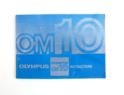 Olympus Camera OM10 Instruction manual Guide (EN)