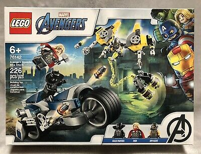 NEW Lego 76142 Marvel Avengers Speeder Bike Attack 226 Piece Building Toy Set