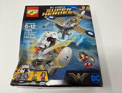 LEGO DC Comics Super Heroes Wonder Woman Warrior Battle 2017 (76075)