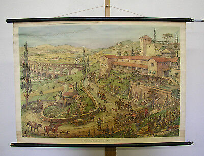 Wall Picture Roman Empire Time Des Kaisers Augustus 99x70cm Vintage Octavian