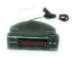Sony Dream Machine ICF-C470 Dual Alarm AM/FM Clock Radio