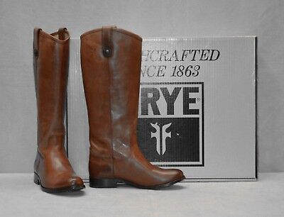 Frye Melissa Button Boot - Women's Cognac, 8.0