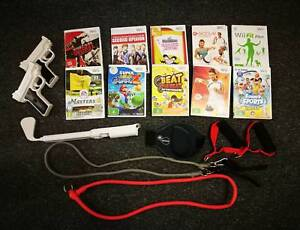 Wii Console Bundle - with controllers, games & accessories