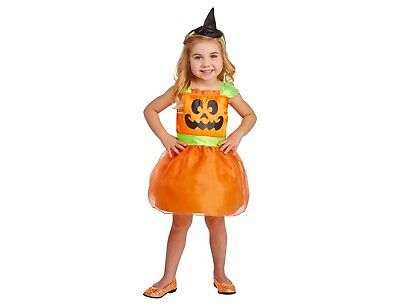 Toddler Girls' Pumpkin Dress Costume Hyde and Eek! Boutique, Size 18-24 Months](Pumpkin Costume Toddler Girl)