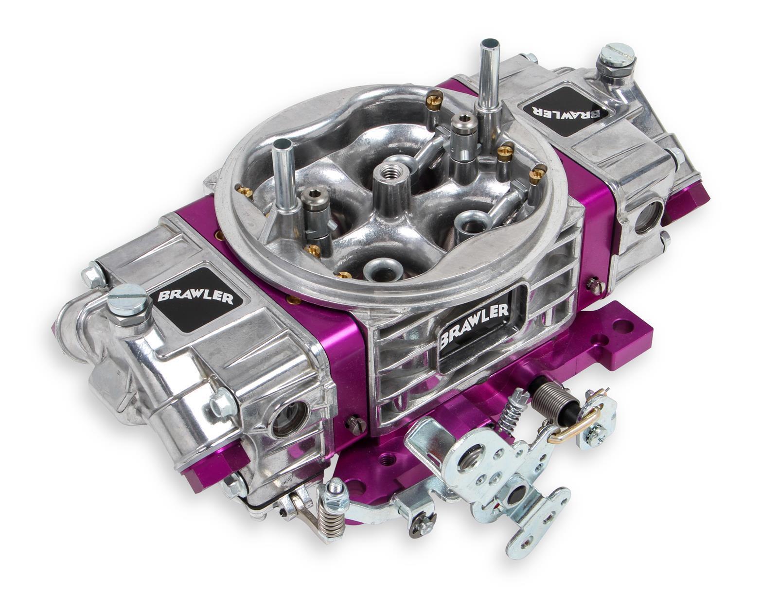 Proform 67211 Street Series 600 CFM Polished Aluminum Dual Inlet 4-Barrel Square Bore Mechanical Secondary Carburetor with Electric Choke