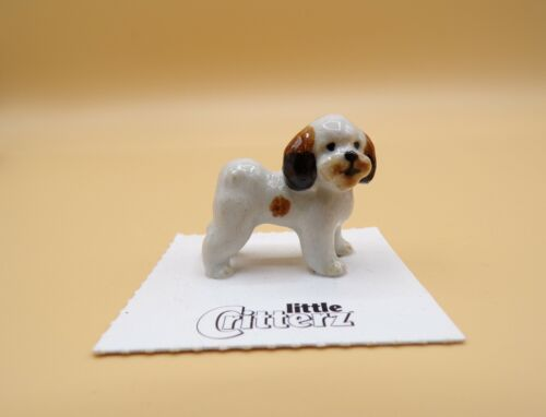"Little Critterz Shih Tzu ""Sultan"" Porcelain Figurine LC810"