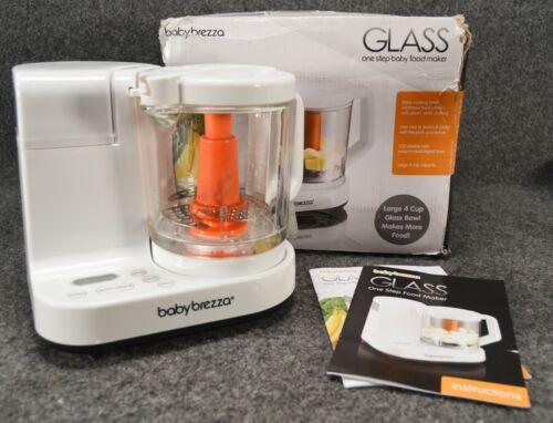 Baby Brezza Glass BRZ00131S Baby Food Maker Cooker Blender