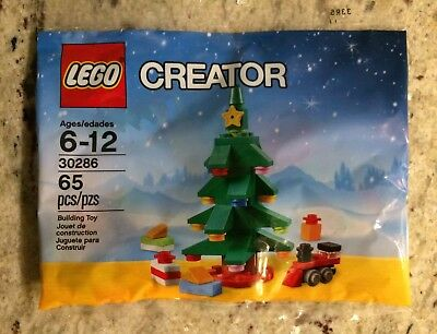 Lego 30286 Creator Christmas Tree with Gifts and Train, New In Sealed Polybag