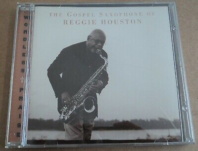 The Gospel Saxophone Of Reggie Houston RARE 1999 Religious Soul Worship CD Saxophone Worship Music