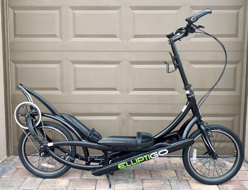ElliptiGo Stand Up Elliptical Bicycle, Upgraded Alfine 11s Internal Geared Hub