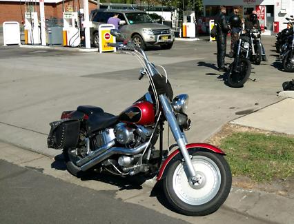 Harley Davidson Fatboy Palmwoods Maroochydore Area Preview