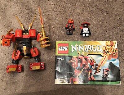 Lego Ninjago Kai's Fire Mech 70500 100% Complete No Box