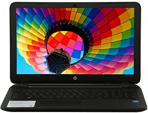 NEW HP 15.6 Laptop DVD RW Intel Dual 2.41GHz Turbo 4GB Ram 500GB HD Win 8.1