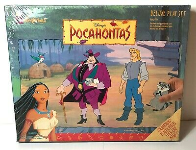 Pocahontas Colorforms from Disney Deluxe Play Set Pieces Stick Like Magic