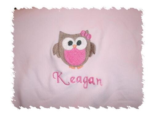 Personalised baby blankets ebay personalised baby girl blankets negle Choice Image