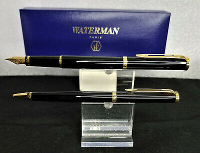 Burmese Green Jade Red Crystal Fountain Pen in Goldtone Writing Office Gift