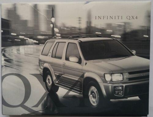 1996 Infiniti QX4 Sales Promotion Brochure & VHS Tape