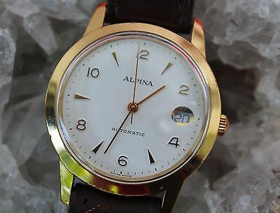 ALPINA Automatik Kal. ETA 2824-2 Glasboden Herrenuhr 35 mm