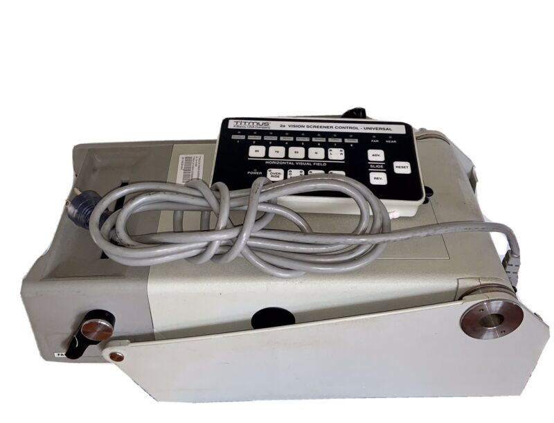 Titmus 2A Vision Screener, Control, & Power Cable