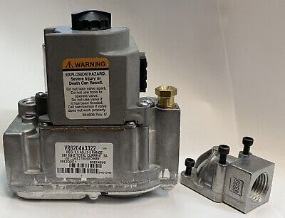 Honeywell Combination Pilot Gas Valve Vr8104 Vr8204 Vr8304 Vr8204a-3322 2076