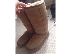 Authentic Tall UGGS - keeps your feet and legs warm