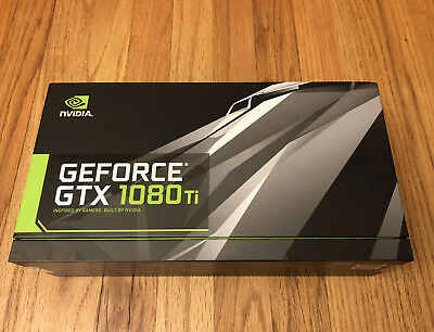 BRAND NEW NVIDIA Founders Edition GeForce GTX 1080 Ti FE 11GB 1080Ti