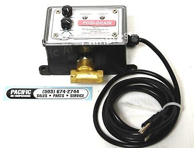 Electric Auto Drain 14 Npt 110v Timer Controlled Air Compressor Part Oem