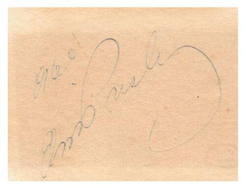 Elvis Presley - Signature - Authenticated by International Autograph Auctions