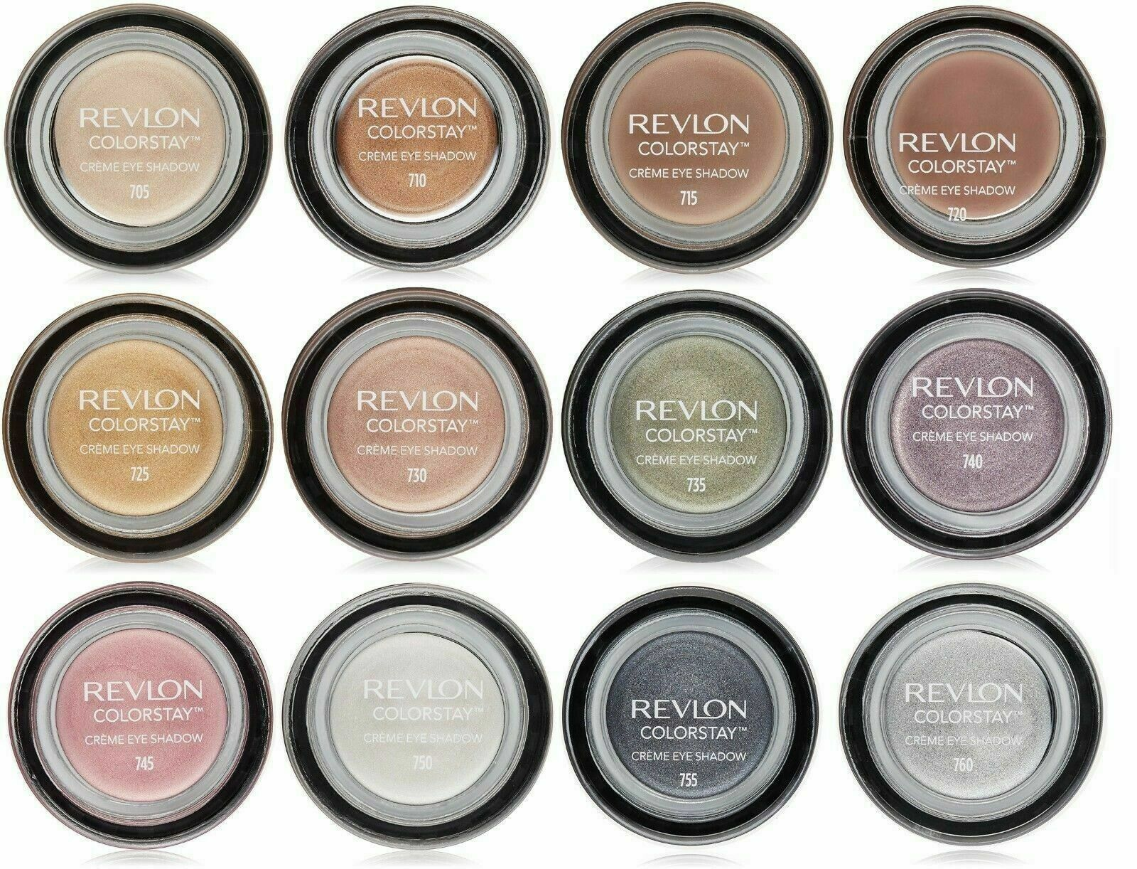 Revlon ColorStay Crème Eye Shadow -All Colors You Choose -