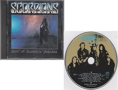 SCORPIONS Best of Rockers & Ballads 1989 Picture Disc CD I Can't Explain Zoo
