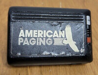 Vintage 1990's Motorola Pager Beeper with Clip Turns On