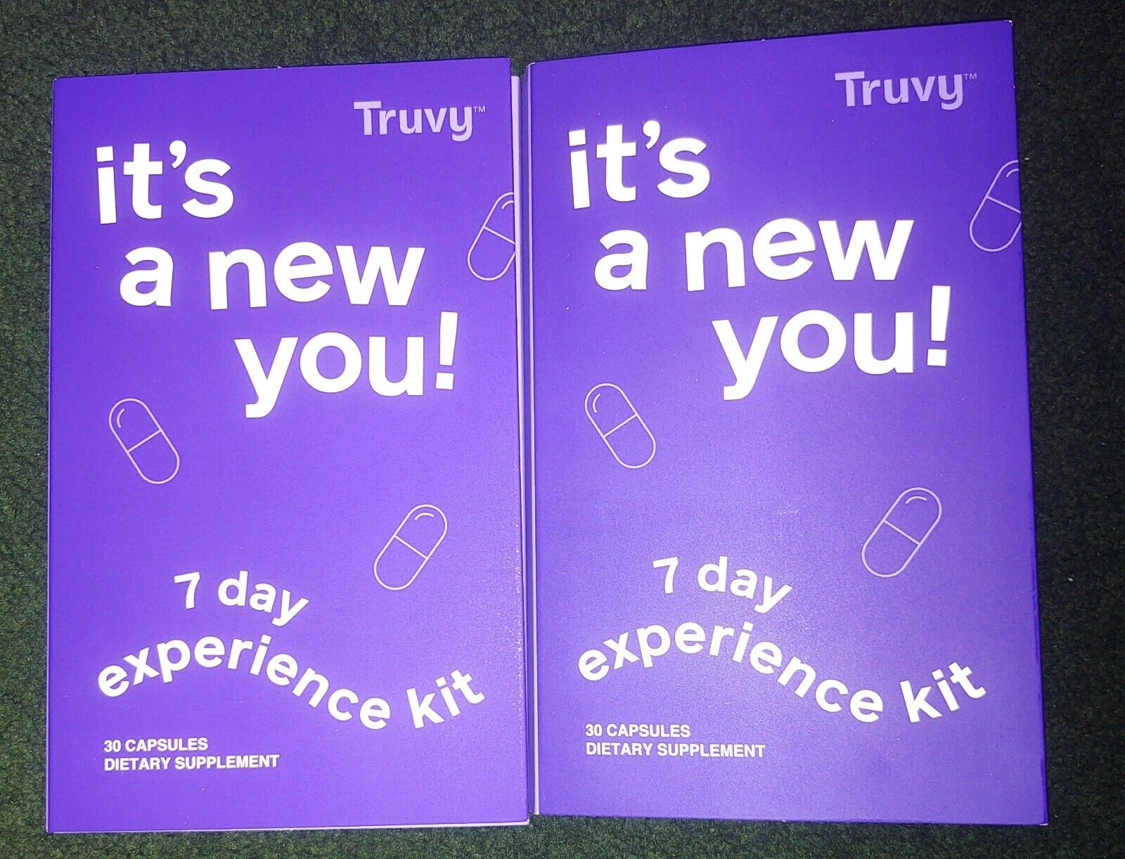 2 Wk Supply both Truvy TruVisions newest release Tru + Vy Weight Loss Supplement