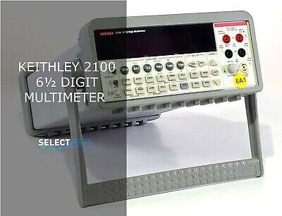 Keithley 2100 6.5 Digital Multimeter Usb 0.1v-1000v 10ma-3a Look Ref.088