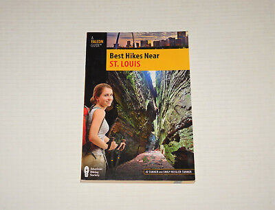 Best Hikes Near St. Louis - A Falcon Guide Hiking Society Book NEW