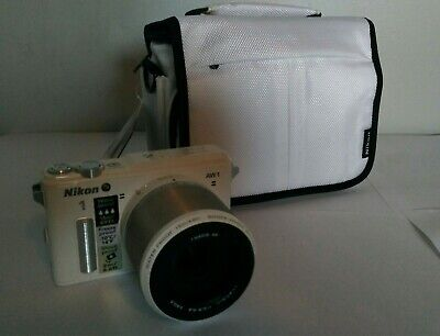 Nikon 1 AW1 Mirrorless Digital Camera with 11-27.5mm Lens (White) Combo