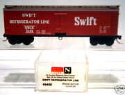 N Scale Wood Reefer