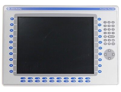 Allen Bradley 2711p-k15c4a8 A Panelview Plus 1500 Color Touchscreen Keypad
