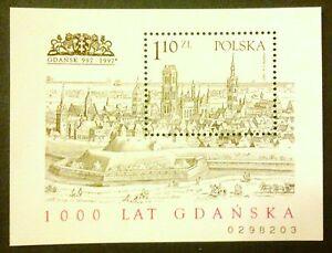 POLAND-STAMPS Fibl116B (159B) Sc3343 Mi129A -1000 anniversary of Gdansk,1997 - Reda, Polska - POLAND-STAMPS Fibl116B (159B) Sc3343 Mi129A -1000 anniversary of Gdansk,1997 - Reda, Polska