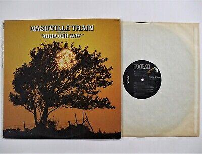 NASHVILLE TRAIN Presents Abba Our Way PROMO LP (RCA AFL1-2630) VG+ Vinyl