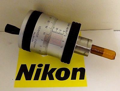 Nikon Micrometer Head For Profile Projector