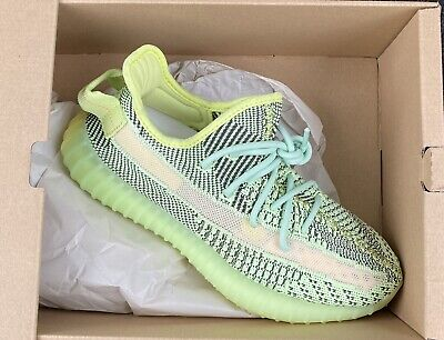 Adidas Yeezy 350 Boost Yeezreel Size 7.5 DS RIGHT SHOE ONLY! WBOX FW5191 DISPLAY