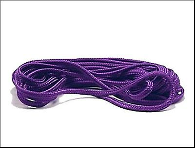 Bondage Rope,cord. Silk style,purple, red, black, UK made, 10 metres, 6mm thick