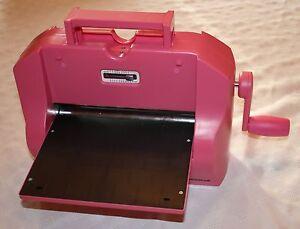 Crafts too presscut die cutting machine ctmboss01 ebay for Die cutting machines for crafts