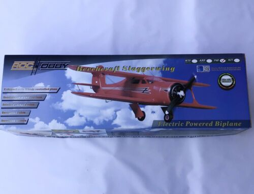 beeheraft staggerwing 1030mm wing span length 850mm