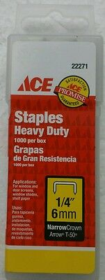 Heavy Duty Staples Stanley Staple Guns 22271ACE 082901222712