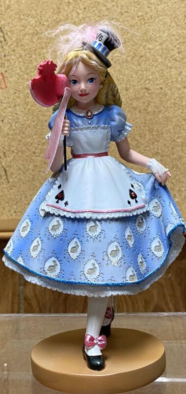 Disney Showcase Rare 65th Anniversary Alice in Wonderland Masquerade Figurine