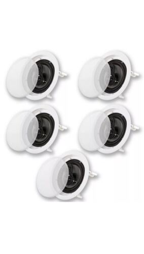 Acoustic Audio CS-IC83 Flush Mount In Ceiling Speakers With 8 Woofers 5 Pack - $149.99